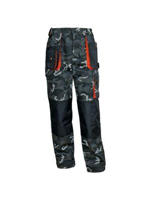 работен камуфлажен панталон емертон с подсилени части