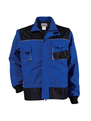 памук полиестерно лятно работно яке ево емертон синьо